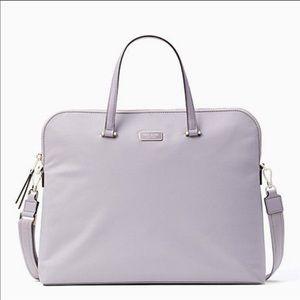 Kate Spade ♠️ Dawn Laptop crossbody case Lavender